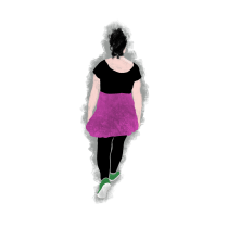Walking On The Cube. A Animation, 2D Animation, and 3D Animation project by Mario Ruz - 05.11.2021