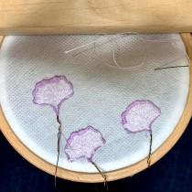 Mi Proyecto del curso: Bordado stumpwork: crea adornos en 3D. Un projet de Design de bijoux, Broderie et Illustration textile de Gemma Vicente - 13.06.2021
