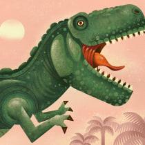My project in Wildlife Illustration for Children's Books course. Um projeto de Ilustração vetorial, Ilustração digital e Ilustração infantil de Travis King - 13.06.2021