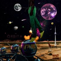 "Music album (""Órbita"" unofficial name). A Photograph, Collage, Photo retouching, Fine-art photograph, Photographic Composition, and Photomontage project by João Vitor dos Santos Campos - 06.16.2021"