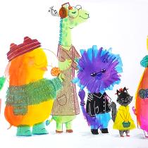 Mi Proyecto del curso: Técnicas de ilustración para desbloquear tu creatividad. Um projeto de Design, Ilustração, Artes plásticas, Pintura, Criatividade, Ilustração infantil, Criatividade para crianças e Sketchbook de Rosario Apcho Quispe - 16.06.2021