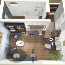 Mi Proyecto del curso: Iniciación al diseño de interiores. Un proyecto de Instalaciones, Arquitectura interior, Diseño de interiores, Decoración de interiores, Interiorismo y Diseño de espacios comerciales de Melissa Ureña - 06.06.2021