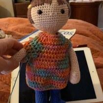 Mi Proyecto del curso: Amigurumi: diseño de ropa, pelo y complementos. Un progetto di Artigianato, Design di giocattoli, Tessuto , e Uncinetto di Nancy Valenzuela - 17.06.2021