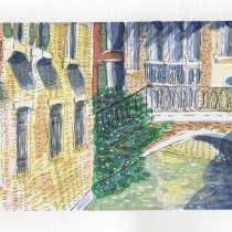 Mi Proyecto del curso: Dibujo arquitectónico con acuarela y tinta. A Sketching, Drawing, Watercolor Painting, Architectural illustration, Sketchbook & Ink Illustration project by Vale U - 06.22.2021