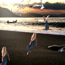 Mi Proyecto del curso: Fotomontaje mágico en Photoshop: crea metáforas visuales. Un progetto di Postproduzione, Ritocco fotografico, Fotografia digitale, Composizione fotografica , e Fotomontaggio di Gloria Candioti - 24.06.2021