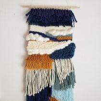 My project in Hand Weaving Techniques for Beginners  course. A H, werk, Dekoration von Innenräumen und Weben project by Shannon Forcucci - 26.06.2021