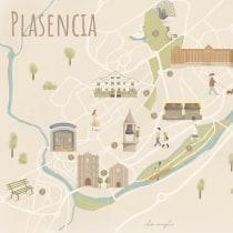 Mapa de mi ciudad. Un proyecto de Ilustración, Infografía, Dibujo, Ilustración digital, Dibujo artístico y Pintura digital de Nazaret Vivas Zamora - 26.06.2021