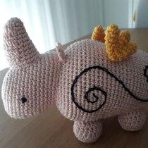 Meu projeto do curso: Design e criação de amigurumis. Un proyecto de Artesanía, Diseño de juguetes, Tejido, DIY y Crochet de aisabel.francisco - 26.06.2021
