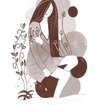 Mi Proyecto del curso: Técnicas de dibujo tradicional con Procreate. Un projet de Illustration, Illustration numérique, Illustration de portrait, Dessin de portrait , et Dessin numérique de pepiestadistica - 28.06.2021