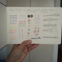 Mi Proyecto del curso: Cuaderno artístico para viajes imaginarios. Un proyecto de Bellas Artes, Creatividad, Dibujo y Sketchbook de Katherine Subero - 28.06.2021