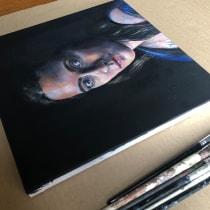 My project in  Realistic Oil Portraiture: Conveying Detail and Expression course. Un progetto di Belle arti, Pittura, Illustrazione di ritratto , e Pittura ad olio di laura_henry04 - 30.06.2021