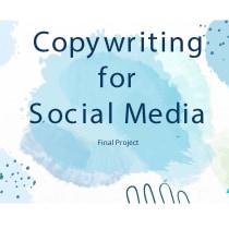 My project in Copywriting for Social Media course. Un projet de Écriture, Cop, writing, Réseaux Sociaux , et Communication de Maria Sawaya - 30.06.2021