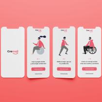 Cremoji: Crea la mejor versión de tí. A Design, Interactive Design, Web Design, Mobile design, and Mobile App Design project by Brayan Daniel Mardueño Flores - 07.03.2021