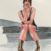 My project in Illustration and Character Development with Watercolor course. Um projeto de Ilustração, Design de personagens, Pintura e Pintura em aquarela de Gül Günizi - 04.07.2021