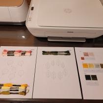 Mi Proyecto del curso: Bordado stumpwork: crea adornos en 3D. Un projet de Design de bijoux, Broderie et Illustration textile de Jackeline Covelli - 05.07.2021