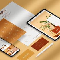 Mi Proyecto del curso: Diseño de papelería corporativa que cautiva . Um projeto de Br, ing e Identidade, Design gráfico e Packaging de Anna Paula Solano - 05.07.2021
