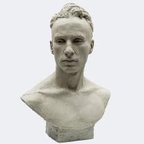 Mi Proyecto del curso: Retrato en barro: modela un rostro a escala real. Um projeto de Artes plásticas e Escultura de Efraïm Rodríguez - 05.07.2021