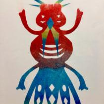 My project in Artist's Notebook: Explore Illustration Techniques course. Un proyecto de Diseño, Ilustración, Bellas Artes, Pintura, Creatividad, Creatividad con niños y Sketchbook de Leontine Hoogeweegen - 08.07.2021