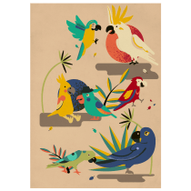 My project in Stylized Vector Illustration with Color and Character course. Un projet de Illustration, Design graphique, Illustration vectorielle et Illustration numérique de Giedrė Balčytytė - 25.05.2021