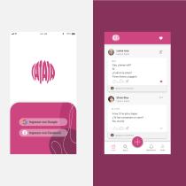 JAJAJA App de chistes Mi Proyecto del curso: Diseño de interfaces para sitios web y aplicaciones. A Grafikdesign, Informationsarchitektur, Interaktives Design, Webdesign, Mobile Design, Digitales Design und App-Design project by Roxana Neira - 06.07.2021