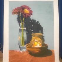 Mi Proyecto del curso: Bodegón contemporáneo con acuarela. Un proyecto de Ilustración, Pintura y Pintura a la acuarela de inkspiracion - 23.03.2021