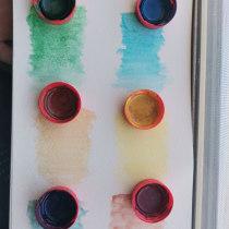 Mi Proyecto del curso: Elaboración de acuarelas artesanales. Un proyecto de Artesanía, Bellas Artes, Pintura, Pintura a la acuarela, DIY y Teoría del color de Jissel Oksana Pacheco Aguirre - 10.07.2021