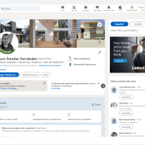 Mi Proyecto del curso: LinkedIn: construye tu marca personal . Un proyecto de Br, ing e Identidad, Redes Sociales y Marketing Digital de Arturo Paredes - 16.07.2021
