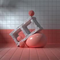 Mi Proyecto del curso: Composición still life en 3D. A 3D, and Design 3D project by Igna Llompart - 07.16.2021