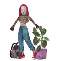 Mein Kursprojekt: Illustration und Charakterisierung von Aquarellfiguren . Um projeto de Ilustração, Design de personagens, Pintura e Pintura em aquarela de fraukefr - 18.07.2021