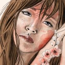My project in Illustrated Portraits with Procreate course. Un progetto di Illustrazione, Illustrazione vettoriale, Illustrazione digitale, Illustrazione di ritratto , e Disegno di ritratto di viona.sachniwits - 19.07.2021
