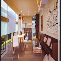 Mi Proyecto del curso: Render de interiores con SketchUp y V-Ray Next. A Architektur, Innenarchitektur, Digitale Architektur und ArchVIZ project by Sebastian Puentes - 15.07.2021