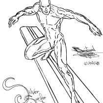 Mi Proyecto del curso: Ilustración para cómics: anatomía de un superhéroe. A Illustration, Character Design, Comic, Pencil drawing, and Figure drawing  project by Bertrand Vergnes - 07.21.2021