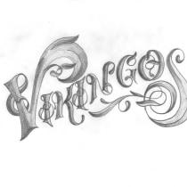 Mi Proyecto del curso: Lettering ornamental. Um projeto de Lettering, Lettering digital e Lettering 3D de Brayan Sánchez - 23.07.2021