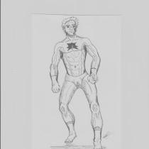 Mi Proyecto del curso: Ilustración para cómics: anatomía de un superhéroe. A Illustration, Character Design, Comic, Pencil drawing, and Figure drawing  project by Ricardo Leal - 07.15.2021