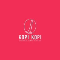 Kopi Kopi, Indonesian coffee roasters. Un projet de Design , Br, ing et identité, Design graphique , et Création de logo de angeladeaduriz - 21.07.2021