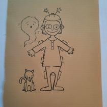 My project in Inside a Creative Notebook: Explore Your Illustration Process course. Un proyecto de Ilustración, Bocetado, Creatividad, Dibujo, Pintura a la acuarela, Ilustración infantil, Sketchbook y Pintura gouache de Eva Russo - 26.09.2021