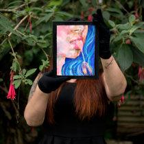 Mi Proyecto del curso: Ilustración con pintura y técnica mixta. Um projeto de Artes plásticas, Pintura, Pintura Acrílica e Pintura a óleo de Alexandra Marin - 28.07.2021