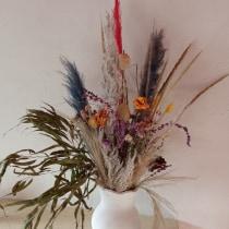 Mi Proyecto del curso: Diseño de centros con flores secas y preservadas. A Interior Design, L, scape Architecture, Decoration, and DIY project by deflorenflor - 07.28.2021