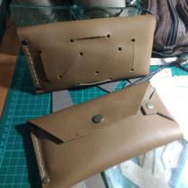 Mi Proyecto del curso: Diseño de accesorios en cuero sin costuras. Un proyecto de Diseño, Diseño de complementos, Artesanía, Moda y Costura de Luis F Monroy E. - 29.07.2021