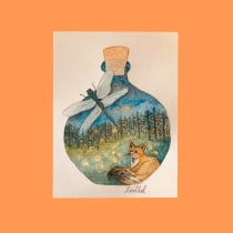 Mi Proyecto del curso: Técnicas de acuarela para ilustraciones de ensueño. Un projet de Illustration, Dessin , et Aquarelle de Tatiana - 01.08.2021