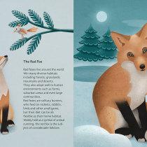 My project in Wildlife Illustration for Children's Books course. Un progetto di Illustrazione vettoriale, Illustrazione digitale e Illustrazione infantile di Viktoria Amon - 01.08.2021