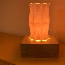 My project in Creation of Origami Lamps with Paper course. A Crafts, Furniture Design, Lighting Design, Paper Craft, Decoration, and DIY project by Aron Bijl - 08.01.2021