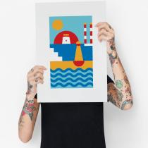 My project in Visual Identity Design: Clean and Simple Geometry course. Um projeto de Direção de arte, Br, ing e Identidade e Design gráfico de garrett.sheridan - 02.08.2021