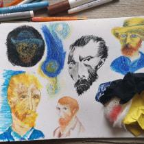 Meu projeto do curso: Técnicas de ilustração para desbloquear sua criatividade. Um projeto de Design, Ilustração, Artes plásticas, Pintura, Criatividade, Criatividade para crianças e Sketchbook de Renata Hostinska - 08.08.2021