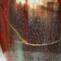 Mi Proyecto del curso: Introducción al Kintsugi: restaura tu cerámica con oro . Un projet de Artisanat, Beaux Arts, Céramique , et DIY de Núria Ribera - 10.08.2021
