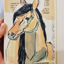 My project in Animal Illustration: Capturing Wildlife in a Sketchbook course. Um projeto de Ilustração, Colagem, Sketchbook e Ilustração naturalista de Aysha Aldoseri - 12.08.2021