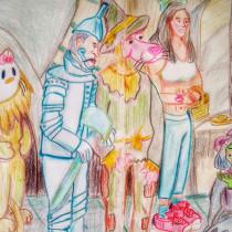 Mi Proyecto del curso: Identidad artística: explora tu propio estilo. Un proyecto de Ilustración, Bocetado, Creatividad, Dibujo y Sketchbook de Ana Karina Moreno - 14.08.2021