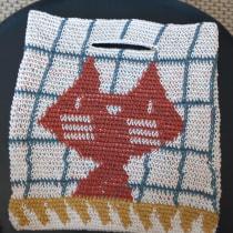 Meu projeto do curso: Tapestry: técnica de crochê para desenhar com linha. Un projet de Création d'accessoires, Mode, Création de motifs, Tissage, DIY , et Crochet de Helena Martinez - 17.08.2021