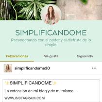 Mi Blog ✨Simplificandome✨. A Writing, Cop, writing, Product photograph, Content Marketing, Commercial Photograph, Communication, and Narrative project by Jacqueline Santiago González - 08.15.2021