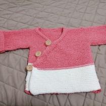 Mi Proyecto del curso: Tejido de punto para prendas infantiles. A Fashion, Fashion Design, Fiber Arts, DIY, and Crochet project by Nahir Rodriguez - 08.17.2021